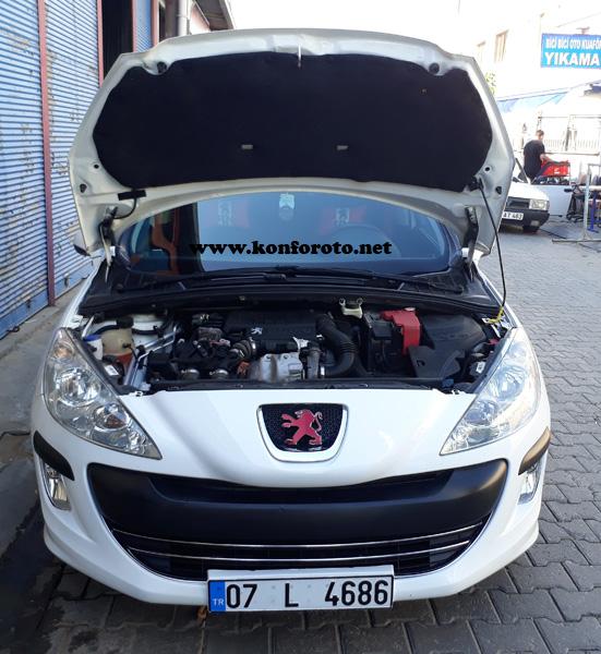 Peugeot ön kaput keçesi